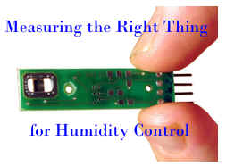 Measuring the Right Thing for Humidity Control