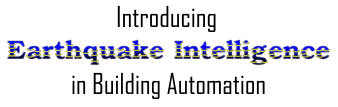 Introducing Earthquake Intelligence in Building Automation