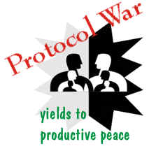 Protocol war yields to productive peace