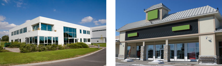 Small Commercial Buildings : Automatedbuildings article bringing energy efficiency to